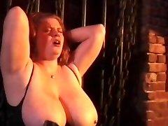Wild couple spanking Wild tied bitch