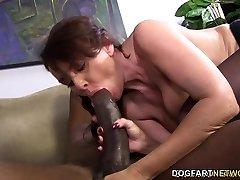 जेनेट मेसन की कोशिश करता है,'s बड़ा काला लंड