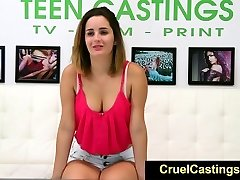 FetishNetwork Alex Mae tryout bdsm støping