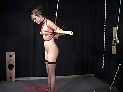 Slave slut taunted and disciplined