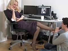 office nylon feet adore