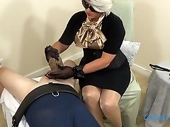 Nylon Mitten Hand Job trailer