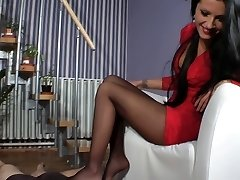 Dea Amy Footjob - Bootjob - Shoejob
