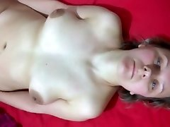 Subjugated wife obediently takes spouse's cum compilation