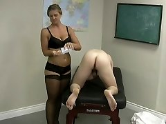 cfnm harassment bent over hand job.