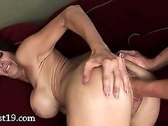 Ferocious vagina fisting of two glamours