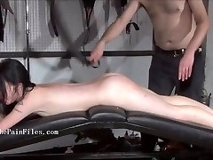 Brutish sub blowjobs and rough slave sex of play piercing