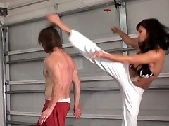 Her Naked Feet, His Face (Brutal MMA Female Domination)