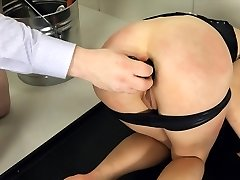 Extreme BDSM toilet whore fucked anally hard