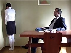 hard smacking of a schoolgirl