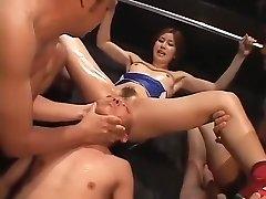 Crazy homemade BDSM, Fetish porn scene