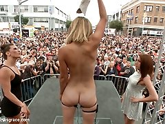 Folsom Street Spectacle The Ultimate Abasement Of Mona Wales - PublicDisgrace
