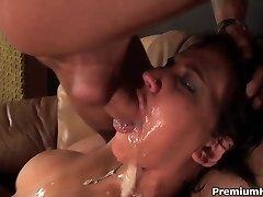 Brutálny ústa v prdeli Sasha Grey
