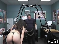 Joyful stunner Ziggy Star ass fucked roughly at audition