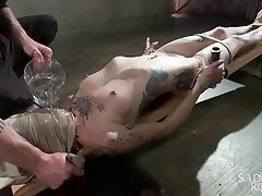 FISTING, WATER BOARDING, Extraordinary TORMENT, AND BRUTAL Restrain Bondage!!!