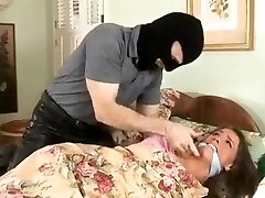 Tori Dark-hued Bound and Gagged in Jammies