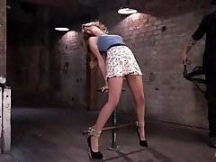Bondage bad ass suffers in tiring bondage and cruel torment from The Pop