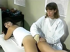 Aunt Gwen smacks and fingers Kara in medical office 2