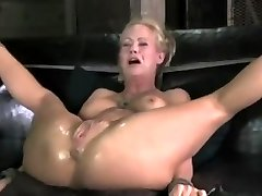 MILF Plumbed To Tears Crying in Agony Until Made to Splatter by AssholePunisher