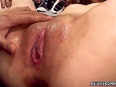 ivrig heller fleksibel japansk nympho karin yazawa får lubed fitte ertet