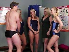 Guy joins the swim crew