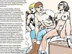 Horror Comics Women Grasped