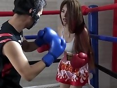 Asian Brutal Mixed Boxing Ryona