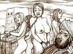 Captive bondage domination & submission art