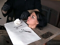Real whore London River gets her pussy punished by one nasty dude