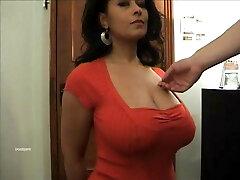 Big titties Danica Collins as her tits groped.