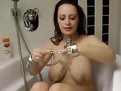 Katha German Slave Girl in Self Bondage And Gagged Neandra
