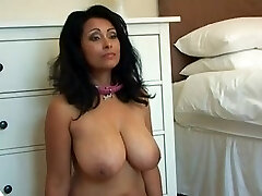 Curvy Mexican MILF gets dominated silly