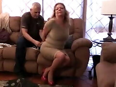 Karen Summers tied up and ball-gagged
