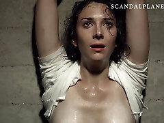 Ava Verne Bare & Tied On ScandalPlanet.Com