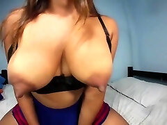 Look at my tits, I have a lot of milk, nipple clamps increase my delight.