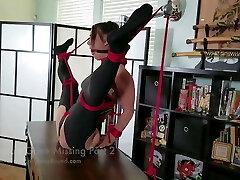Maria Leotard Restrain Bondage Splits