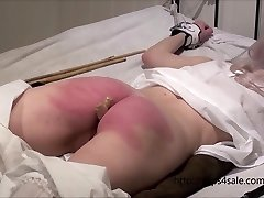 Petite Victorian gal getting a hard punishment