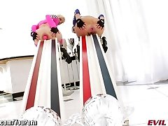 EvilAngel Bizarre Anal Insertions and HUGE Toys