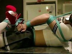 Sexy asian Teen in bondage