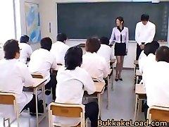 College lærer Rei Shina elsker