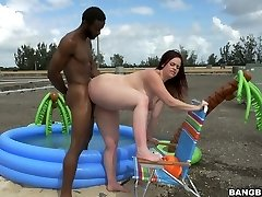 PHAT ASS WHITE GIRL Virgo Peridot blacked savagely outdoor