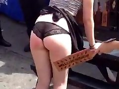 First-timer Humiliation & Punishment on University Streetfair #Two