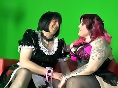Sextape Germany - German BBW smashing a bizarre fellow
