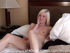 Extremely Hot Platinum Ash-blonde Cockslut