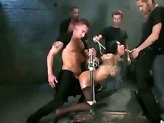 Žiauriai BDSM Dvigubai Skverbtis Gangbang! tūrio.11: FTW88