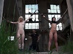 The bondage factory of punishment for Master sex slaves