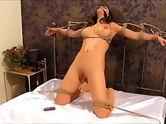 Diminutive Vibrator Stuck Inside Of Her Fuckbox