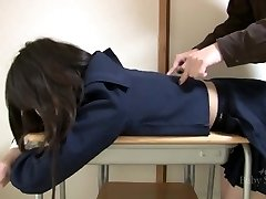 Japanese student ( JK ) tickled