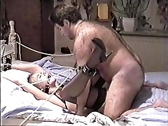 Vintage Amateur Bondage (beautiful girl and hairy penetrate)