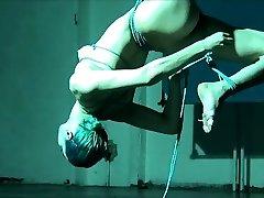 ballerina shibari ise pärisorjus ja peatamine